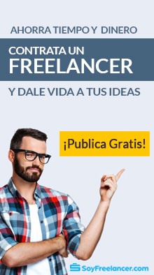 Ahorra tiempo y dinero, contrata un freelancer y dale vida a tus ideas con soyfreelancer.com